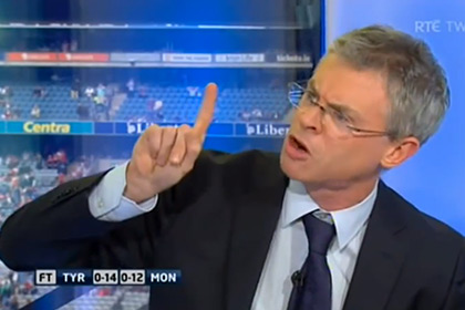 Joe Brolly gets his point across