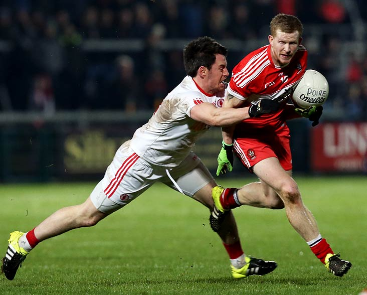 Revenge on Tyrone is Derry's aim