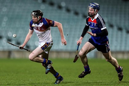 WIT&#39;s Thomas Hamill and Kevin O&#39;Brien of UL<br />&#169;INPHO