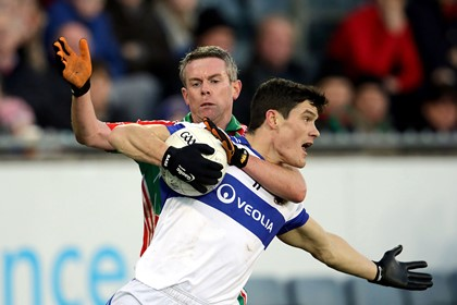 St Vincent&#39;s Diarmuid Connolly with Damien Rushe of Garrycastle<br />&#169;INPHO