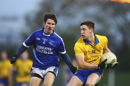 The Nire&#39;s Conor Gleeson in action against Sean Chaplin of Cratloe<br />&#169;INPHO