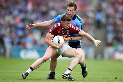 Westmeath&#39;s Ger Egan and Jack McCaffrey of Dublin<br />&#169;INPHO