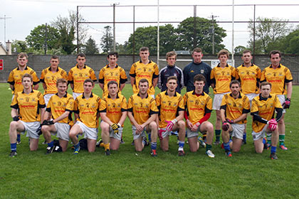 The 2013 All Stars team that took on Cavan in Munterconnaught