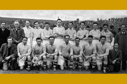 The Antrim team of 1946