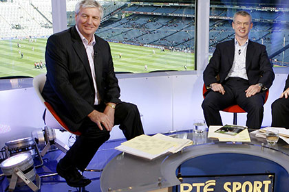 Michael Lyster and Joe Brolly