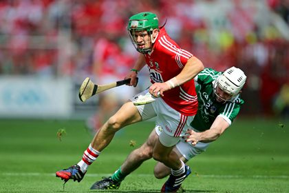 Cork&#39;s Alan Cadogan and Tom Condon of Limerick<br />&#169;INPHO