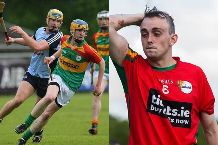 Frantic dash for Carlow duo pays off