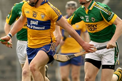 Clare were comfortable winners over Kerry in the Munster MHC playoff ©INPHO/James Crombie