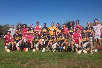 The California Collegiate GAA opened its season