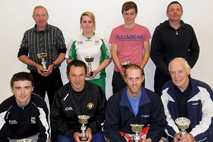 Collooney handball tournament winners.