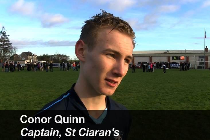 Conor Quinn of St Ciaran's ©Jerome Quinn Media