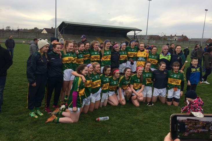County final joy for Cooley U18 ladies