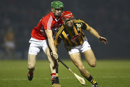 Kilkenny&#39;s Cillian Buckley in action against Seamus Harnedy of Cork<br />&#169;INPHO