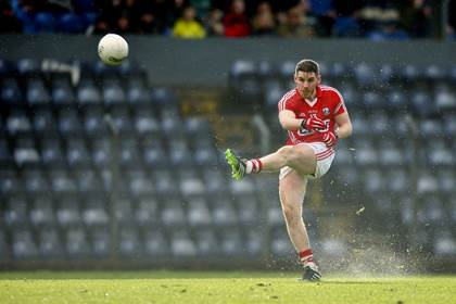 Cork&#39;s Daniel Goulding in action.<br />&#169;INPHO/Ken Sutton.