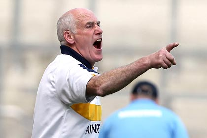Former Antrim hurling manager Dinny Cahill