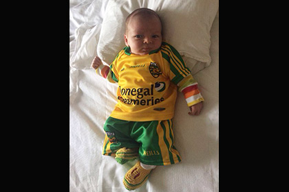 A future All Star - little Noah Lacey