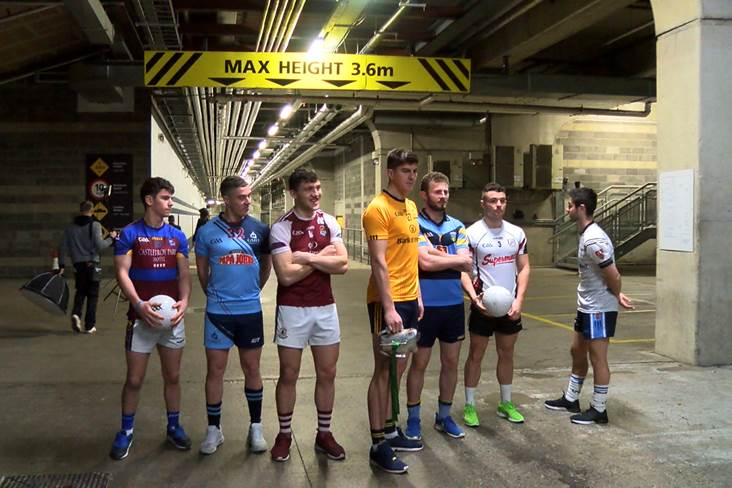 Video: Sigerson & Fitzgibbon Cup Draw reaction