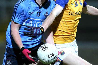 Dublin and Longford battled it out in the first round of the Leinster MFC ©INPHO