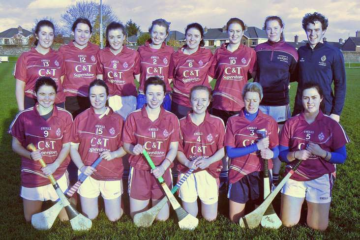 NUI Maynooth victorious in Marino camogie blitz