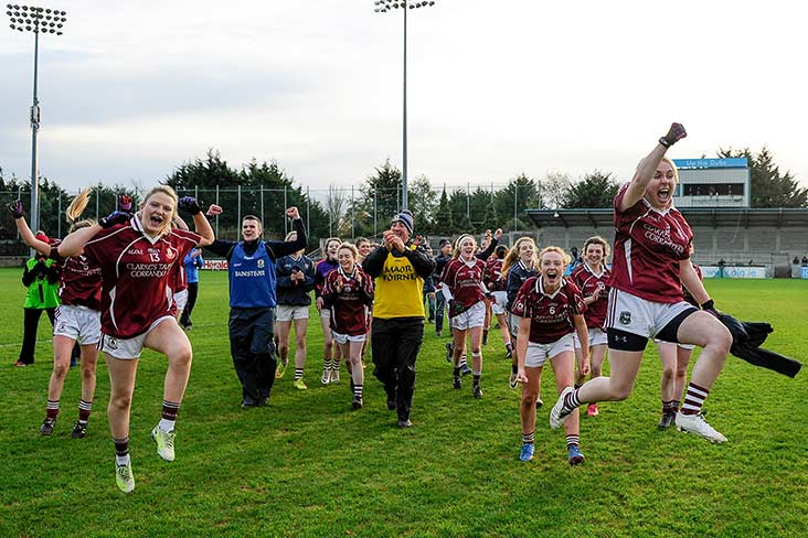 Video: All-Ireland win for Galway girls