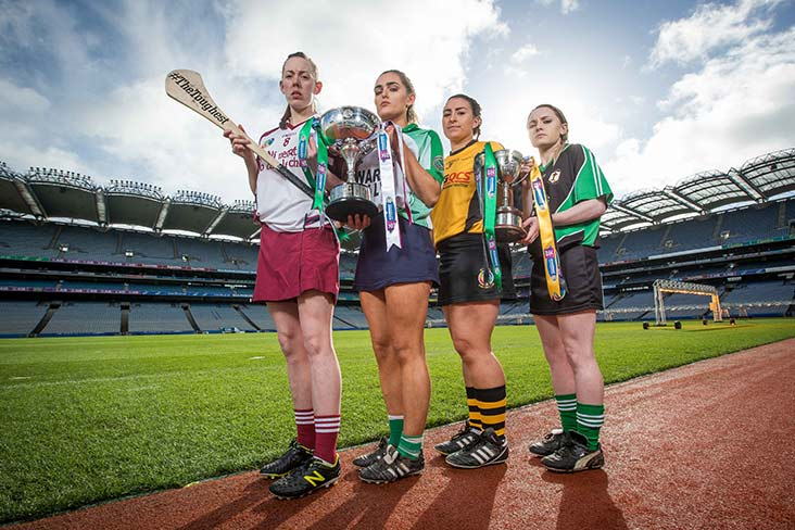 Four clubs chasing camogie history