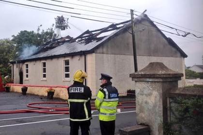 An Orange Order in Co. Donegal whose hall was destroyed in an arson attack last month could soon be meeting in the local GAA clubhouse.