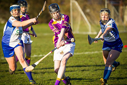 Shona Cunningham in action