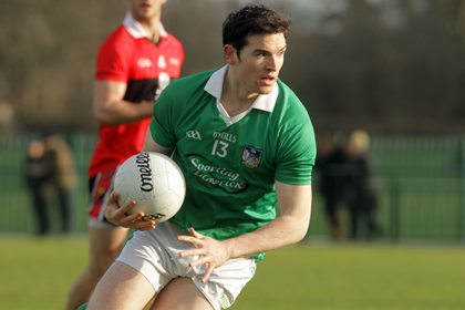 Limerick attacker Ger Collins ©INPHO/Donall Farmer