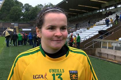 Donegal&#39;s Geraldine McLaughlin.<br />Pic courtesy of Jerome Quinn Media.