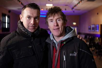 Hector with Oisin McConville