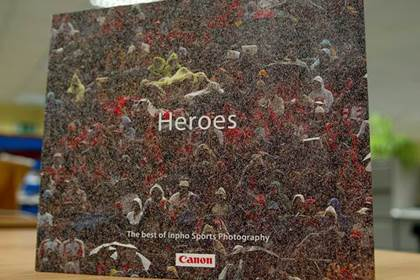 Heroes - the superb book from Inpho Sports