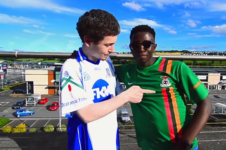 Watch: 'GAA jersey' is a hit in the making