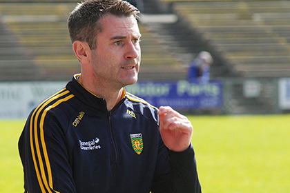Donegal manager Rory Gallagher. INPHO