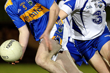 Waterford had home advantage against Tipperary in the Munster MFC quarter final.