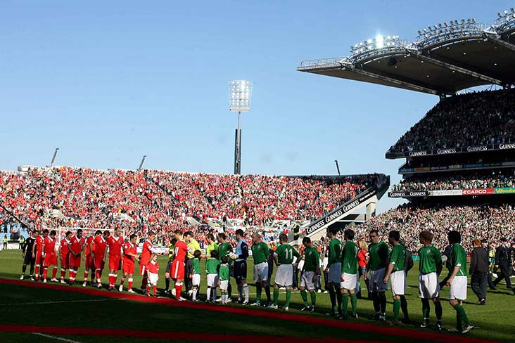 10 years since soccer made its Croker debut