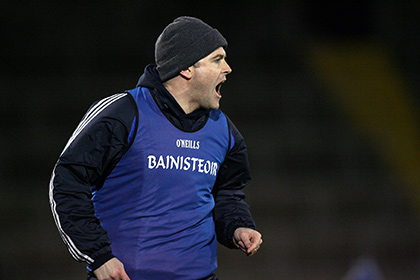 Cavan Under 21 manager Peter Reilly. INPHO
