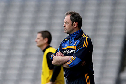 Roscommon hurling manager Justin Campbell. INPHO
