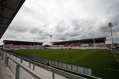 Ravenhill Road, the home of Ulster Rugby.