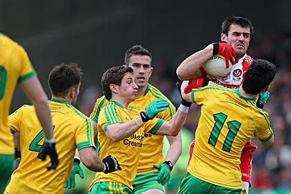 Gaelic football tackle ireland