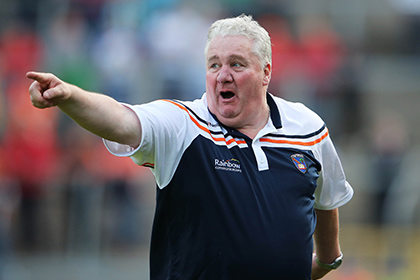 Armagh manager Paul Grimley. INPHO
