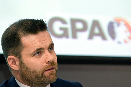 GPA CEO Dessie Farrell. INPHO