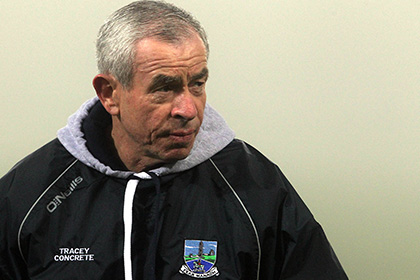 Fermanagh manager Pete McGrath. INPHO