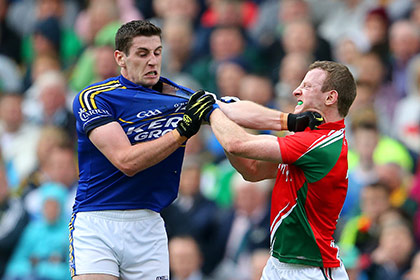 Kerry's Paul Geaney and Colm Boyle of Mayo will have to do it all over again but this time in Limerick. INPHO