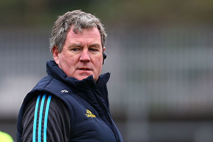 Cavan manager Terry Hyland. INPHO