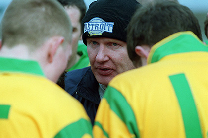 Donegal minor manager Declan Bonner. INPHO