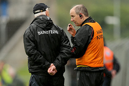 Manager Conor Counihan and selector Ronan McCarthy. INPHO