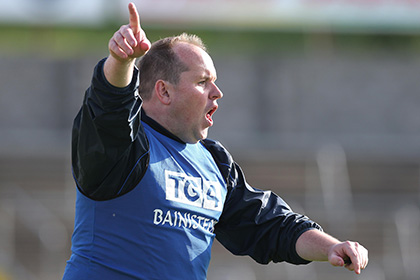 Dublin ladies manager Gregory McGonigle. INPHO