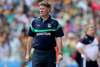 Limerick minor hurling manager Brian Ryan. INPHO