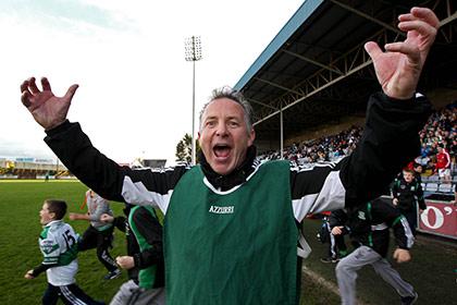 Portlaoise manager Mick Lillis. INPHO