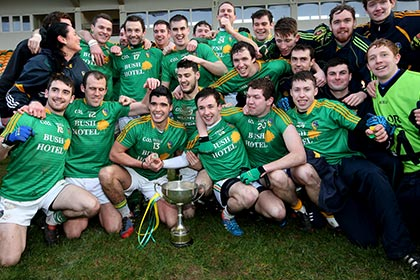 Manager Sean Hagan has paid tribute to the entire Leitrim squad. INPHO